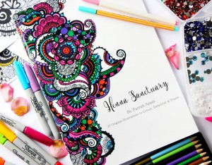 Henna Sactuary book